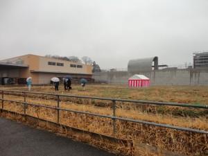 ★雨の中、地鎮祭が行われました!! ゆめみ野4丁目 600坪の土地です。