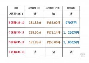 ★取手市青柳 5区画分譲地、土地価格970万円~1,250万円 販売中!!